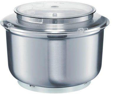 BOSCH Küchenmaschinenschüssel »MUZ6ER2 für Bosch Küchenmaschinen MUM6N«, Edelstahl