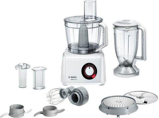 BOSCH Kompakt-Küchenmaschine MultiTalent 8 MC812W501, 1000 W, 3,9 l Schüssel