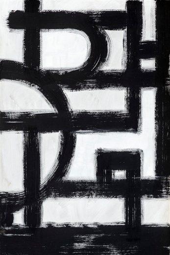Places of Style Leinwandbild »Abstrakte Kunst«