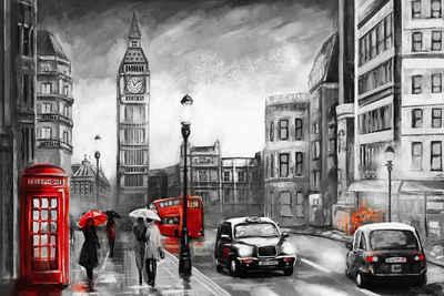 Places of Style Leinwandbild »London«