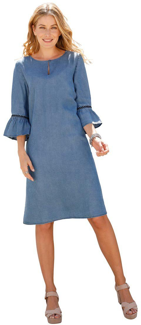 Classic Inspirationen Kleid mit kurzem Schlitz