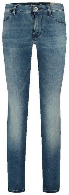 Hosen - Garcia Skinny fit Jeans mit hoher Taille › blau  - Onlineshop OTTO