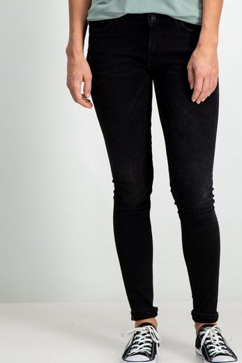 Garcia Skinny-fit-Jeans mit hoher Taille