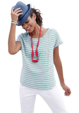 Блуза в модный Seersucker-Qualitä...
