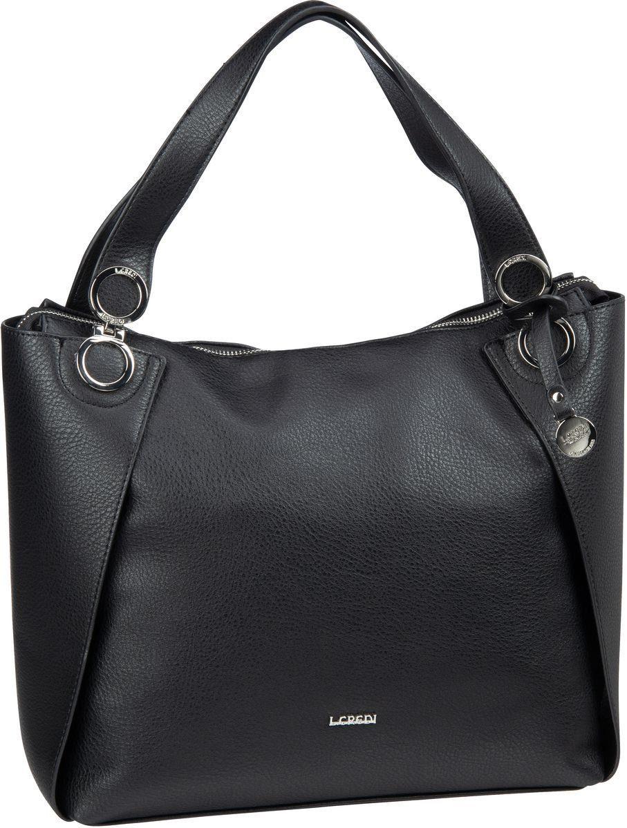 l crefi handtasche schwarz