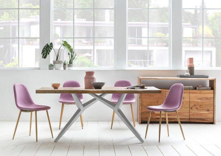 SIT Esstisch »Tables« mit elegantem Metallgestell