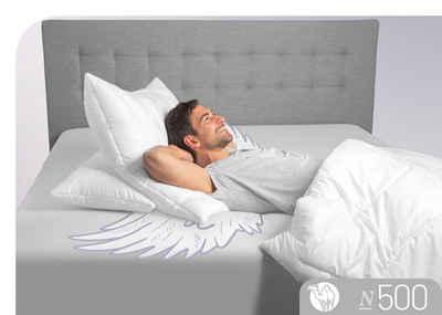 3-Kammer-Kopfkissen, »N500«, Schlafstil, (1-tlg), hergestellt in Deutschland, allergikerfreundlich