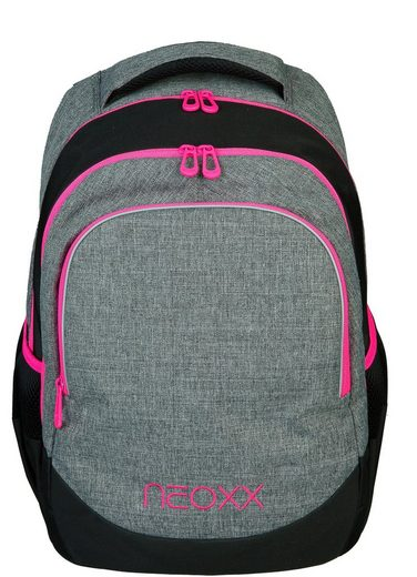 neoxx Schulrucksack »Fly, Pink and Famous«