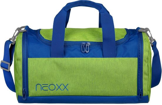 neoxx Sporttasche »Champ, Lime o'clock«