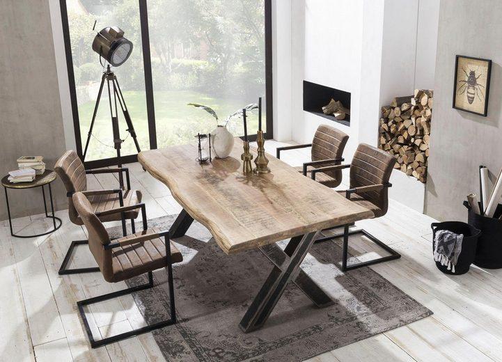 SIT Baumkantentisch »Tables« mit Platte aus Mangoholz