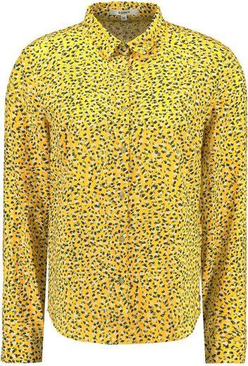 Garcia Klassische Bluse mit all-over Print