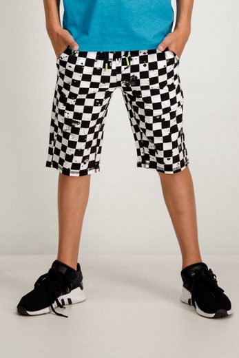 Garcia Shorts mit all-over Print