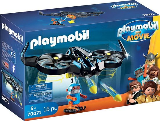 Playmobil® Konstruktions-Spielset »Robotitron mit Drohne (70071), THE MOVIE«, (18 St)