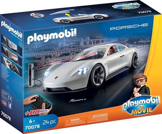 Playmobil® Konstruktions-Spielset »Rex Dasher's Porsche Mission E (70078)« THE MOVIE«