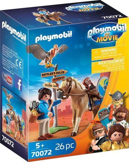 Playmobil® Konstruktions-Spielset »Marla mit Pferd (70072), THE MOVIE«