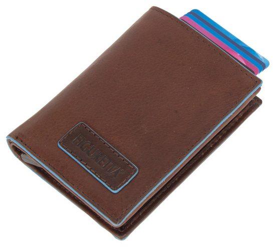 Figuretta Mini Geldbörse, Kartenetui mit RFID Rechnologie