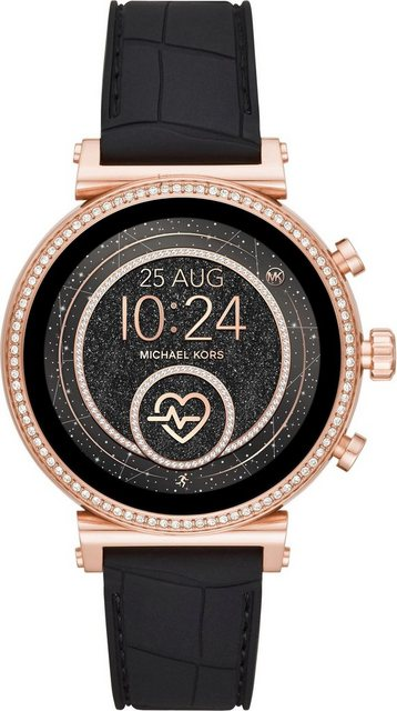 Smartwatches - MICHAEL KORS ACCESS SOFIE, MKT5069 Smartwatch (1,19 Zoll, Wear OS by Google, mit individuell einstellbaren Zifferblättern)  - Onlineshop OTTO