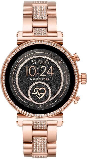 Smartwatches - MICHAEL KORS ACCESS SOFIE, MKT5066 Smartwatch (1,19 Zoll, Wear OS by Google, mit individuell einstellbaren Zifferblättern)  - Onlineshop OTTO
