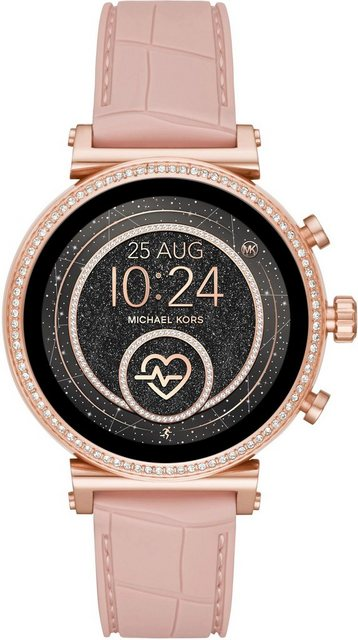 Smartwatches - MICHAEL KORS ACCESS SOFIE, MKT5068 Smartwatch (1,19 Zoll, Wear OS by Google, mit individuell einstellbaren Zifferblättern)  - Onlineshop OTTO
