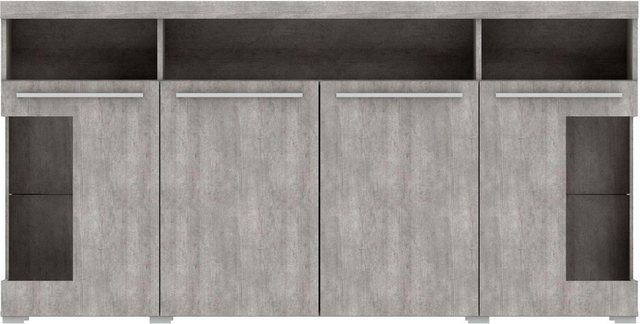 TRENDMANUFAKTUR Sideboard »India«| Breite 182 cm | Wohnzimmer > Schränke > Sideboards | TRENDMANUFAKTUR