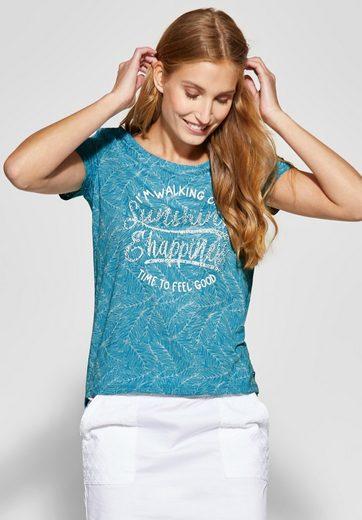Cecil T-Shirt mit transparenten Aussparungen