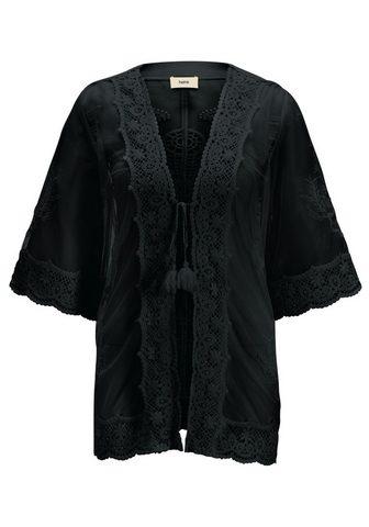 HEINE CASUAL Megztinis su nėriniai