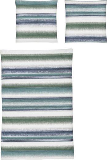 Bettwäsche »Capri 8093«, Irisette, mit modischen Streifen