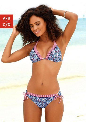 s.Oliver Beachwear Triangel-Bikini-Top »Jill«, mit Mustermix