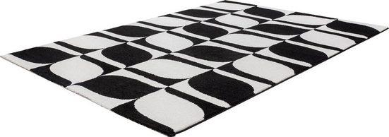 Teppich »My Black & White 393«, Obsession, rechteckig, Höhe 21 mm