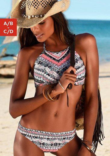 Sunseeker Bustier-Bikini in Crop-Top Form