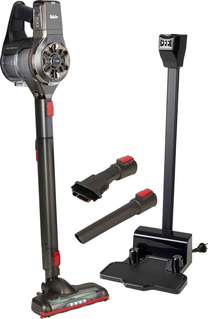 FAKIR Akku-Stielstaubsauger Starky HSA 800 XL Q, 21,6 Watt, beutellos, Air Wave® Cyclone-Technologie & Quick-Charge