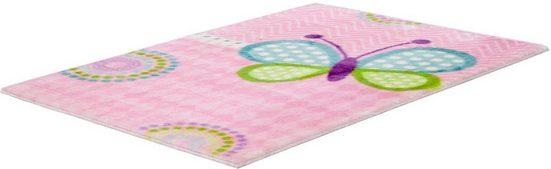 Kinderteppich »My Lollipop 184«, Obsession, rechteckig, Höhe 17 mm, mit Schmetterling-Motiv