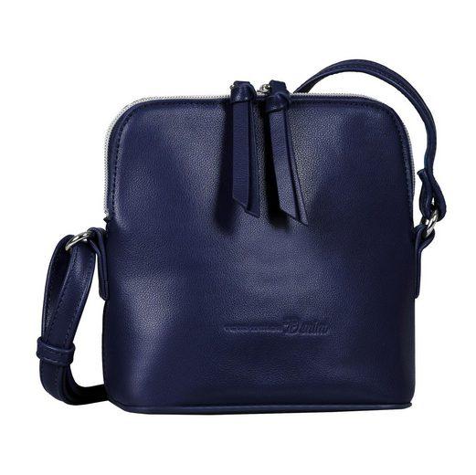 TOM TAILOR Denim Mini Bag »Freia«, mit Fransenapplikation