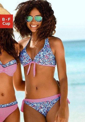 s.Oliver Beachwear Bügel-Bikini-Top »Jill«, mit Mustermix
