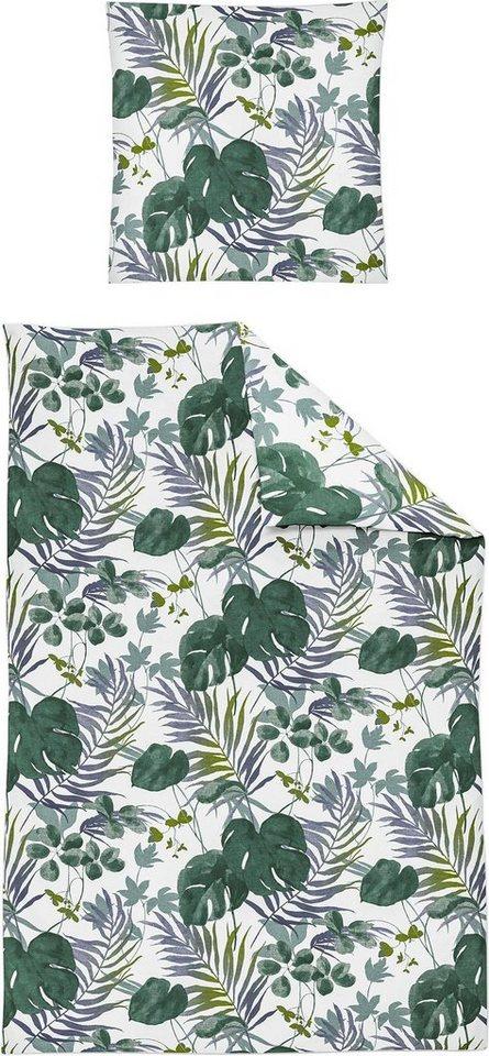 Bettwasche Capri 8092 Irisette Mit Angesagtem Blattmotiv Online Kaufen Otto