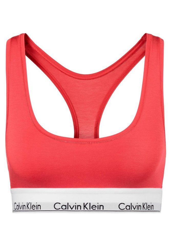 97c7b7e5b50229 Calvin Klein Bustier »MODERN COTTON« (1-tlg) mit Racerback online ...