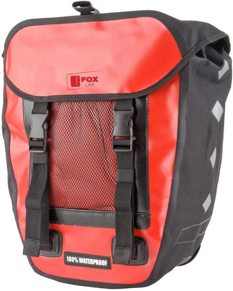4607a3b1b51cc Fox Line Fahrradtasche »Fox Line«