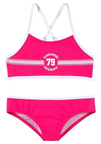 KANGAROOS Bikini maudymosi kostiumėlis »Sporty«
