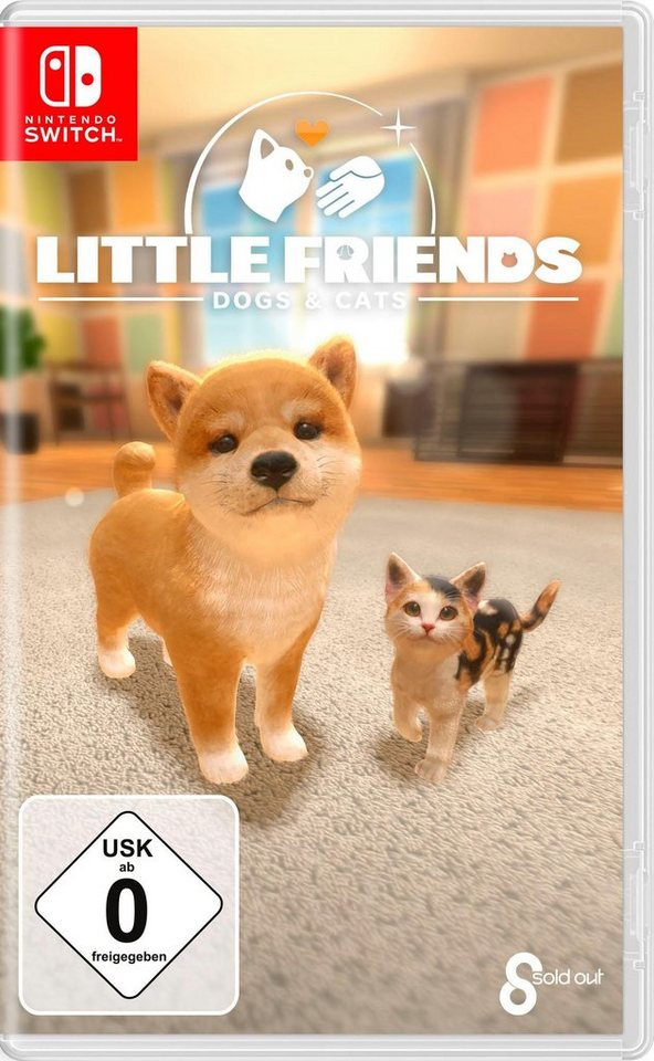little friends dogs cats nintendo switch kaufen otto. Black Bedroom Furniture Sets. Home Design Ideas
