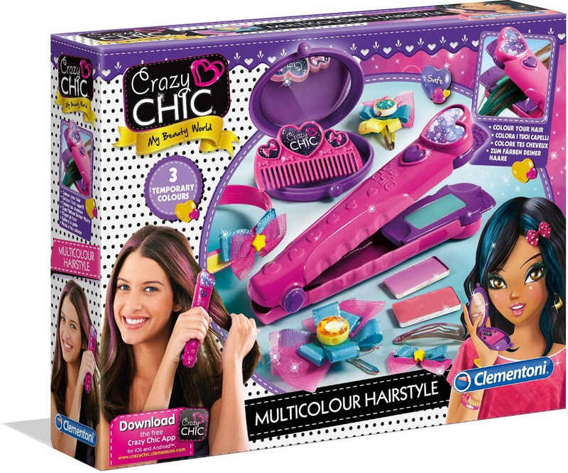 Clementoni® Kreativset »Crazy Chic - Farb-Hairstyler«, Made in Europe