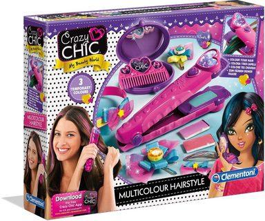Clementoni® Kreativset »Crazy Chic Farb-Hairstyler«