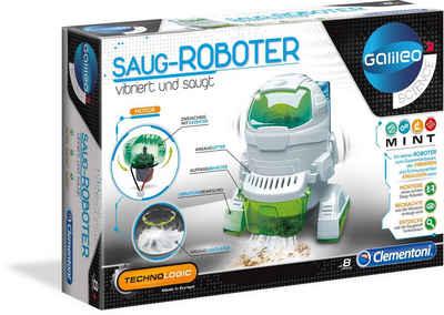 Clementoni® Experimentierkasten »Galileo - Saug-Roboter«, Made in Europe
