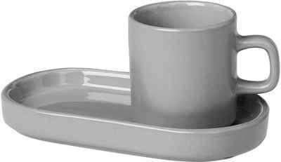 BLOMUS Espressotasse »PILAR«, Keramik, 2 Tassen, 2 Untertassen
