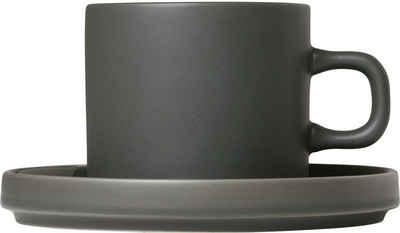 BLOMUS Tasse »PILAR«, Keramik, für Kaffee, 4-teilig
