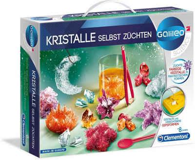 Clementoni® Experimentierkasten »Galileo Kristalle selbst züchten neu«, Made in Europe