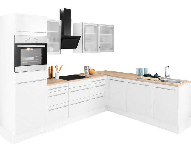 Einbauküchen - OPTIFIT Winkelküche »Bern«, ohne E Geräte, Stellbreite 285 x 225 cm  - Onlineshop OTTO