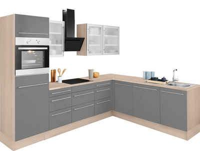 OPTIFIT Winkelküche »Bern«, ohne E-Geräte, Stellbreite 285 x 225 cm