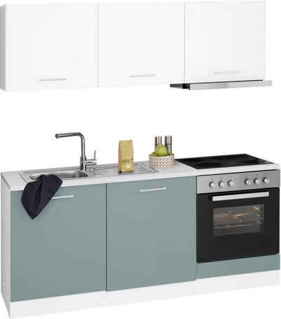 HELD MÖBEL Küchenzeile »Visby«, mit E-Geräten, Breite 180 cm