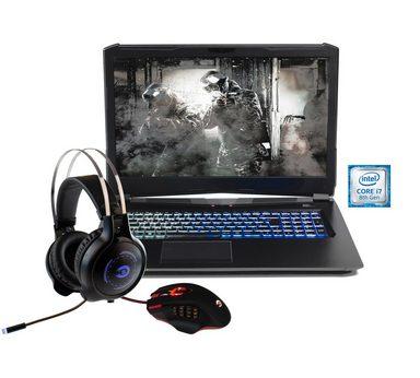 """HYRICAN 17,3"""", i7-8750H, 32GB, 500GB SSD + 1TB HDD, Geforce® GTX 1070 »Striker 1591«"""