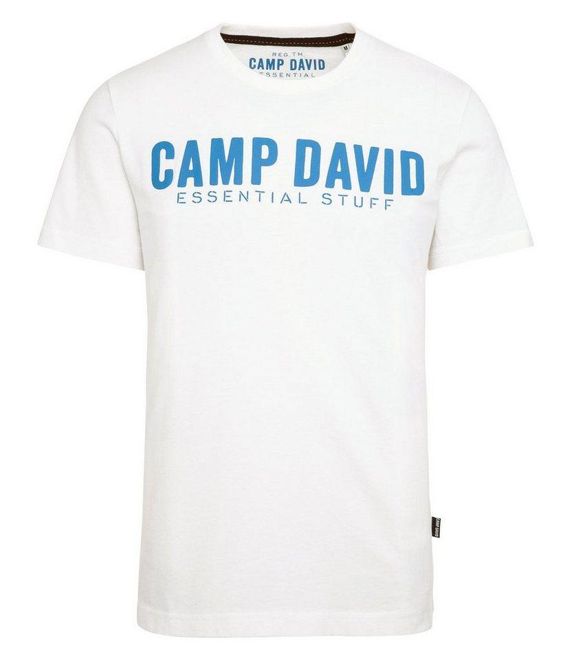 premium selection 63024 53451 CAMP DAVID T-Shirt mit Logo online kaufen | OTTO